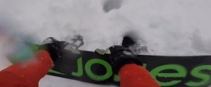 SNOWBOARDER AVALANCHE