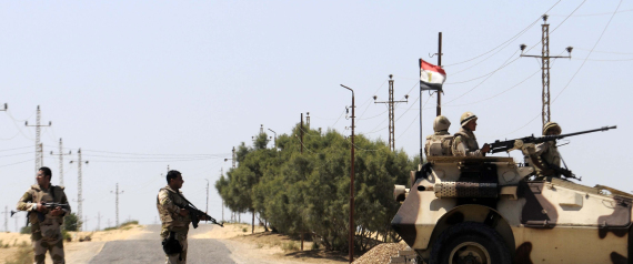 EGYPTIAN POLICE IN SINAI