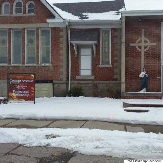 Police Search for Vandals Who Targeted Several Churches, Decapitated Jesus Statue