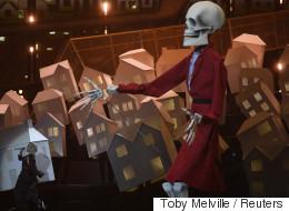 Le «squelette» de Trump sur la scène des Brit Awards