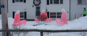 MMIW SNOW SCULPTURES