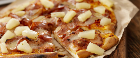 PIZZA PINAPPLE