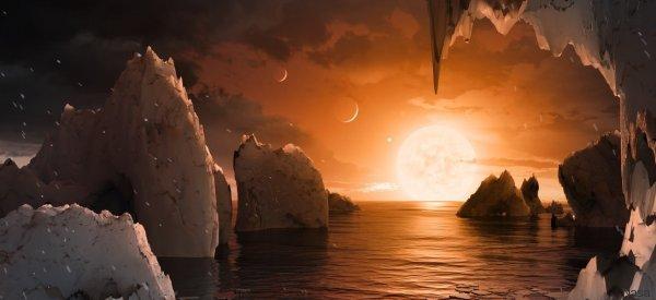 Ecco quale potrebbe essere la vista da Trappist-1