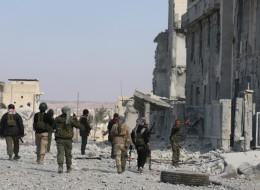 طردوا داعش.. المعارضة السورية المدعومة من تركيا تعلن سيطرتها الكاملة على الباب  السورية