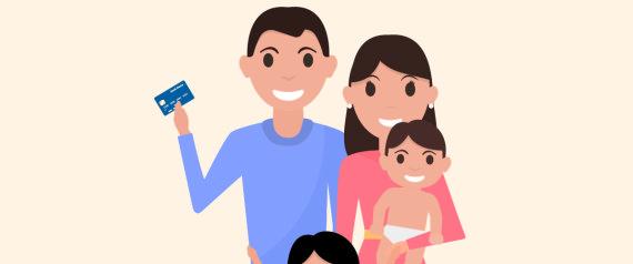 HAPPY CHILDREN CREDIT CARDS
