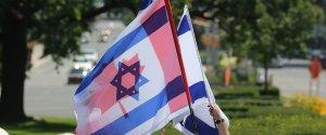 CANADA ISRAEL FLAG