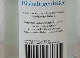 Kann zu Erblindung führen: Verbraucherschutzministerium in NRW warnt vor diesem Wodka - Video