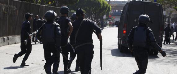EGYPT POLICE MUSLIM BROTHERHOOD