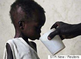 아프리카는 2160만 명이 굶어 죽을 위기다