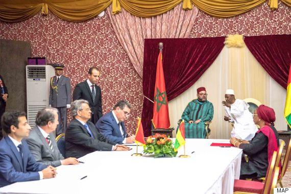 Guinée : arrivée du Roi Mohamed VI à Conakry…