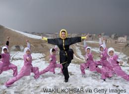 Mit Kampfsport gegen die Unterdrückung: Eine junge Afghanin macht den Frauen Kabuls Mut