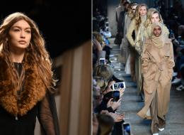 جيجي حديد تنافس حليمة المحجبة في عرض أزياء ميلان فكانت هذه النتيجة