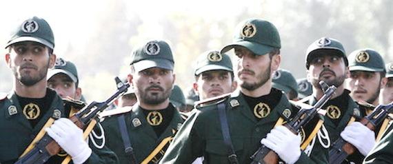 IRANS REVOLUTIONARY GUARDS
