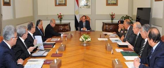 ABDEL FATTAH ALSISI MEETING