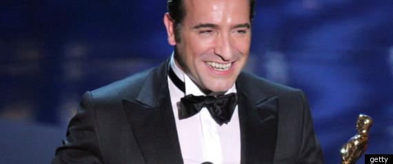 Jean Dujardin The Artist Oscars 2012