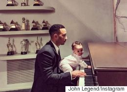 John Legend's Daughter Can't Wait For His Oscars Performance