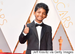 'Lion' Star Sunny Pawar Totally Owned The Oscars Red Carpet