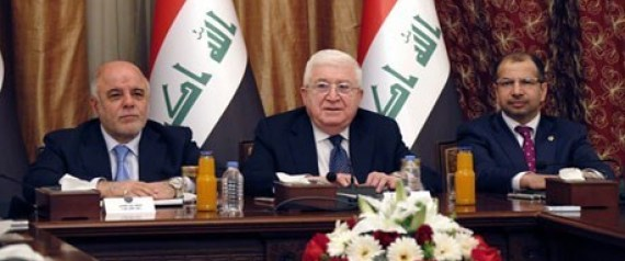 THREE PRESIDENCIES IN IRAQ MEETING