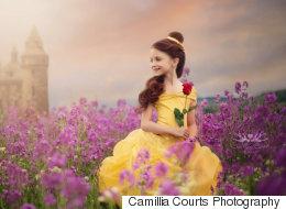 Cette fillette a eu droit à une séance photo digne des princesses Disney