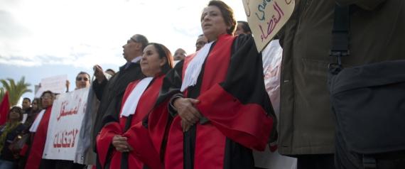 JUDGES TUNISIA