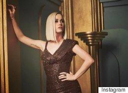 Ce que Katy Perry ne montre pas sur cette photo de sa robe au Oscars
