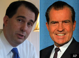 Scott Walker Richard Nixon