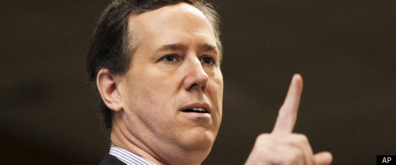 Rick Santorum Church State