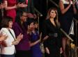 Il vestito nero di Melania durante il primo discorso del marito al Congresso ha un significato preciso
