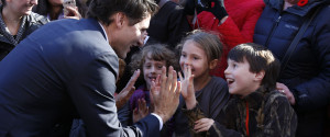 JUSTIN TRUDEAU CHILDREN