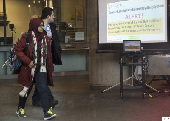 concordia muslim Police search concordia university after threats targeting muslims montreal – three concordia university buildings in.