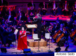 Ariane Moffatt et l'OSM: le classique lui va si bien