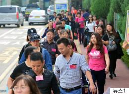 중국이 한국 여행상품 판매를 전면 금지시켰다