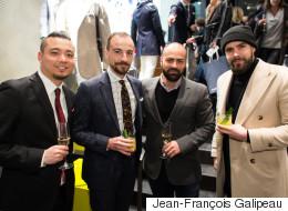 Styles de soirée: l'inauguration en grand de la boutique de vêtements pour homme Suitsupply