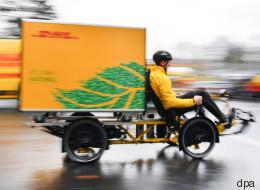 DHL liefert Pakete jetzt auch mit dem Fahrrad aus - davon könnten wir alle profitieren