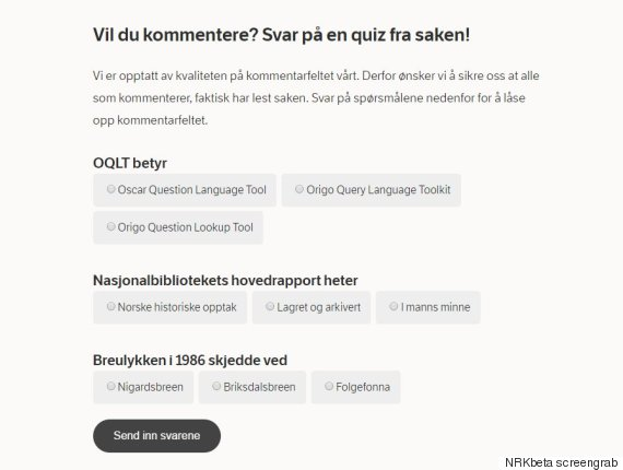 nrkbeta comment quiz