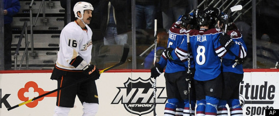 Avalanche Beat Ducks