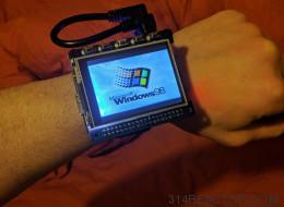 Ce nostalgique crée une montre fonctionnant sous Windows 98