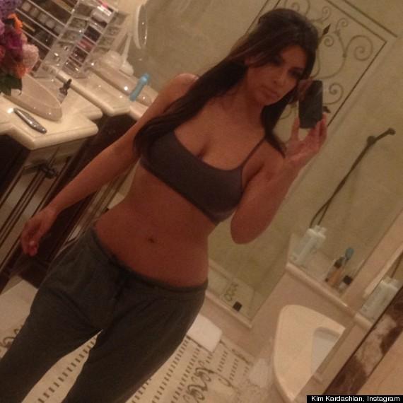 Kim Kardashian Wears No Makeup Bra In Twitter Picture