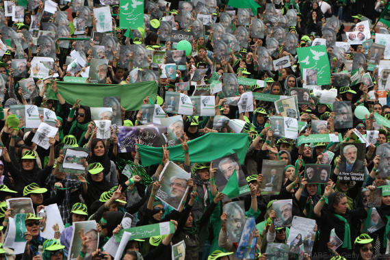 revolution verte iran