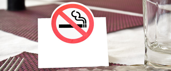 BAN SMOKING TABLE