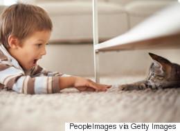 Les animaux aident au développement des enfants