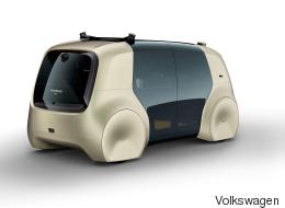Volkswagen présente sa voiture autonome Sedric