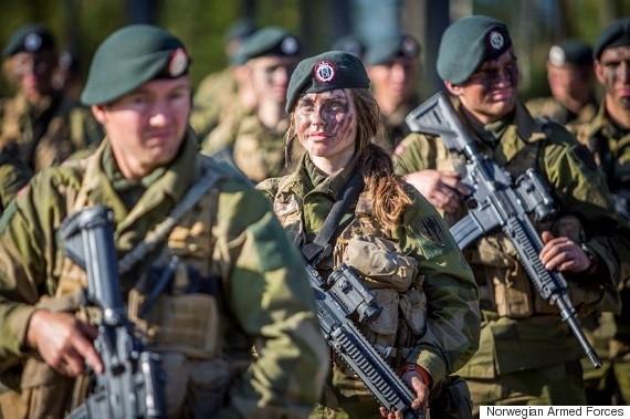 norwegian soldier