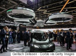 Découvrez la voiture qui vole qu'Airbus imagine pour 2027