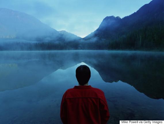 man lake