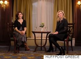 Η Άλκηστη Πουλοπούλου μιλά για την παράσταση «Οι Τρεις ευτυχισμένοι», αλλά και για την ζωή στην Ελλάδα