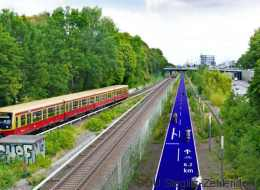 Alte Bahntrassen als Radwege - so will Berlin das Radfahren revolutionieren