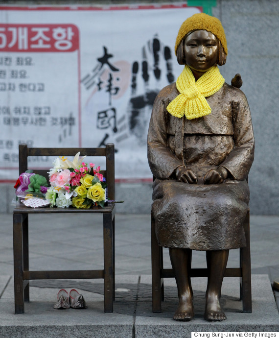 girl statue seoul