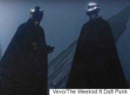 Daft Punk se prend pour Darth Vader (et The Weeknd pour Michael Jackson)