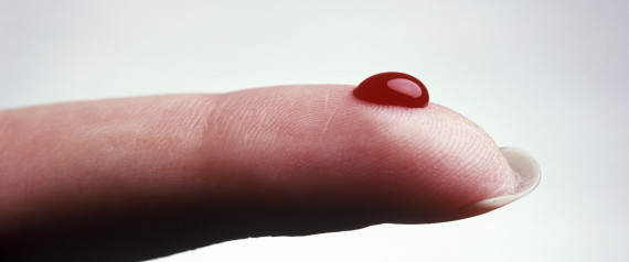 FINGER BLOOD
